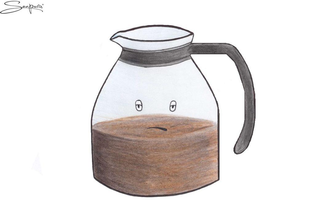 Der bittere Kaffee (Karikatur)