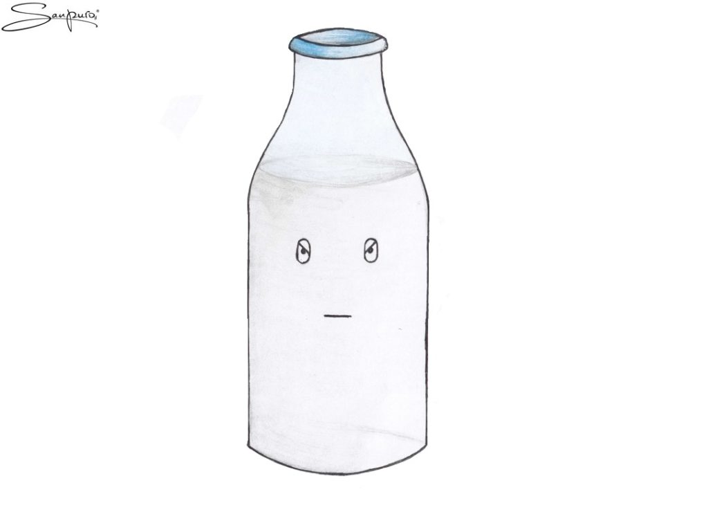 Saure Milch (Karikatur)