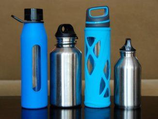 einige Trinkflaschenarten