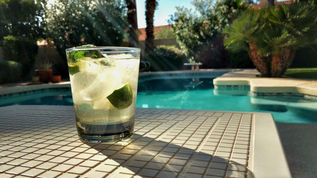 Getränk in einem Glas